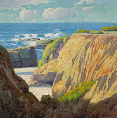Maurice Braun (American, 1877-1941) California Coast 34 x 34in