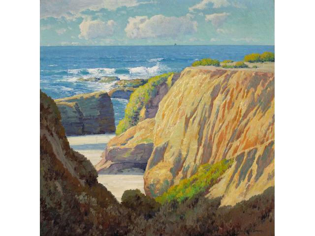 Maurice Braun (American, 1877-1941) California Coast 34 x 34in