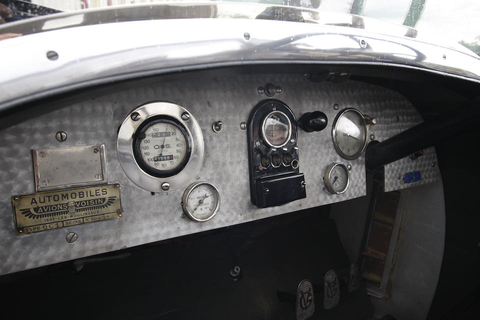 Former transport to the French government ,1921 Avions Voisin OC1 'Presidential' Coupé  Chassis no. 543 Engine no. 543