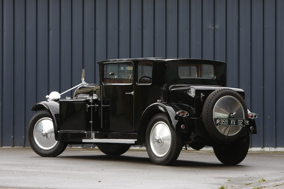 """One of two built, a Masterpiece of Art Deco design,1931 Avions Voisin C14 """"Chartre""""  Chassis no. 28674 Engine no. 28599"""