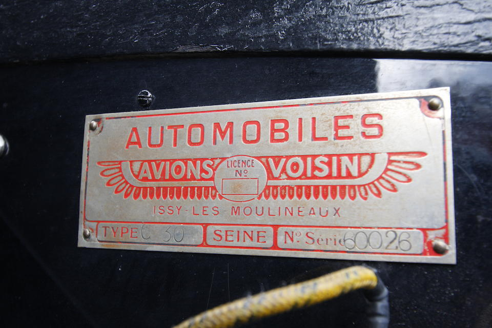 The final car designed by Gabriel Voisin,1939 Avions Voisin C30 S Coupé  Chassis no. 60026