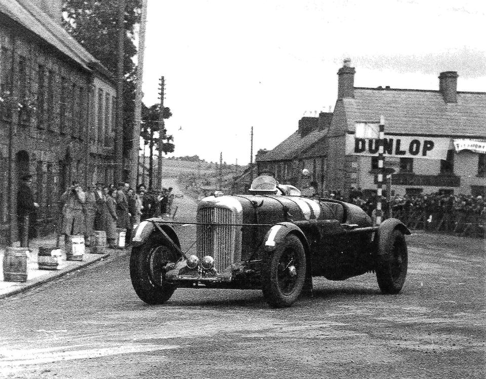 Ex-the Hon. Brian Lewis/John Hindmarsh/Charles Brackenbury/C.E.C.Martin/Marcel Lehoux - 1936 Grand Prix de L'ACF, 1936 and 1937 RAC Tourist Trophy,1936 BRDC Brooklands 500-Mile Race, 1937 Le Mans, 1952 Goodwood Nine Hours entry and Alan Hess Sports Car record breaking, Fox & Nicholl Team Car  'EPE 97' ,1936 Lagonda LG45R Rapide Sports-Racing Two-Seater  Chassis no. 12111 Engine no. 12111