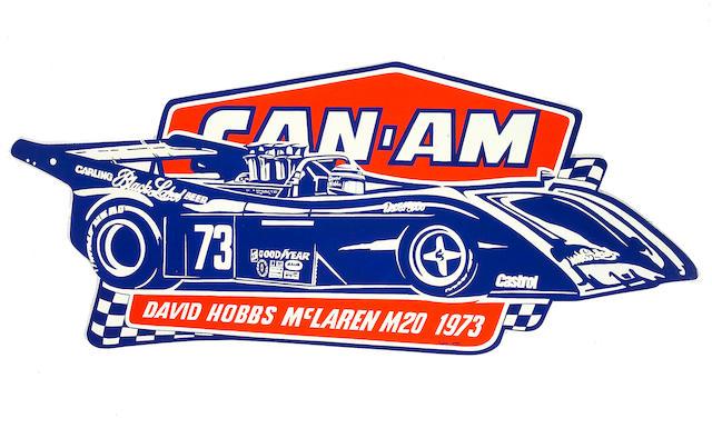McLaren M20 by Robert Carter, 37 x 90in