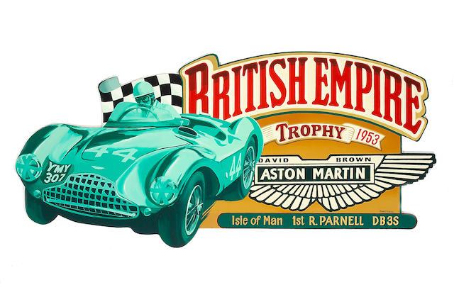 Aston Martin DB3s by Robert Carter,