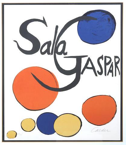 Alexander Calder (American, 1898-1976); Sala Gaspar;