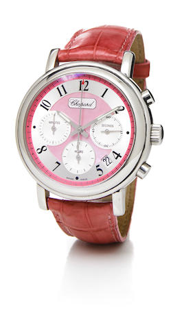 Chopard. A limited edition stainless steel self-winding chronograph wristwatch with calendar Elton J