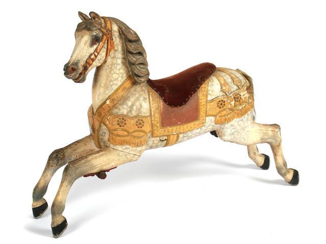 A European carousel horse