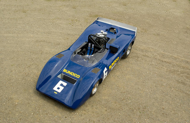 The ex-Roger Penske, Mark Donohue Can-Am Lightweight,1969 Lola T163 Sports Racer SL 163/17