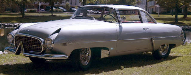 Number 11 of 26 built,1954 Hudson Italia Coupe  Chassis no. IT10011