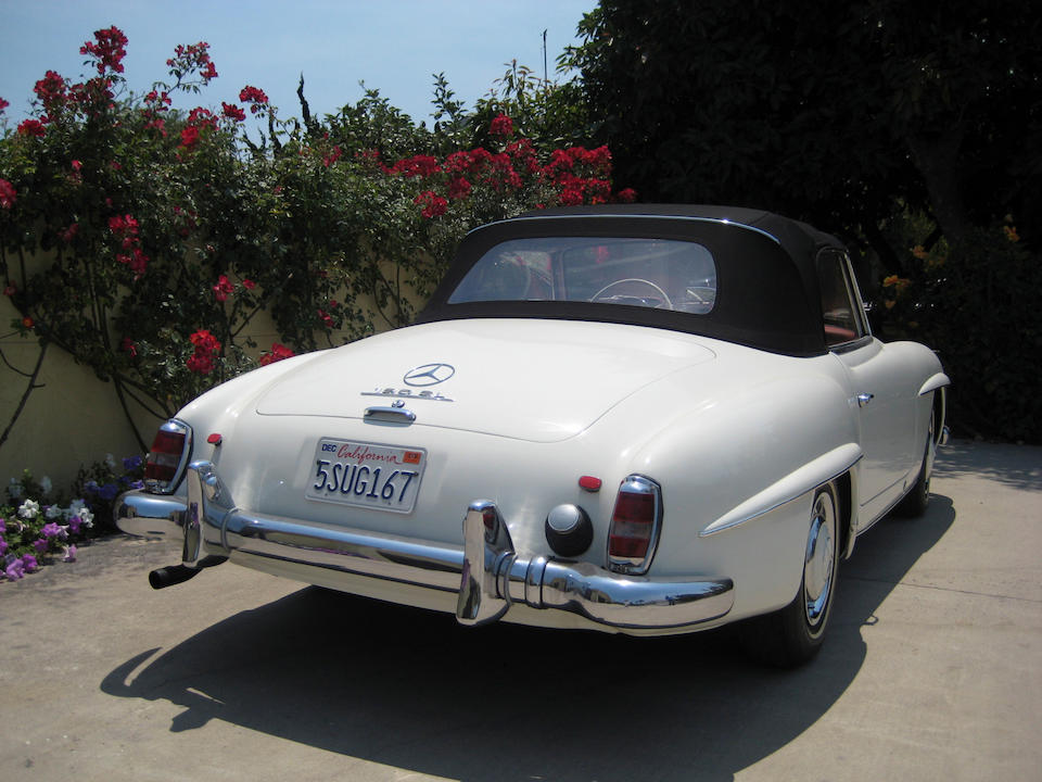 c1961 Mercedes-Benz 190SL Roadster  Chassis no. 121-042-10.000155
