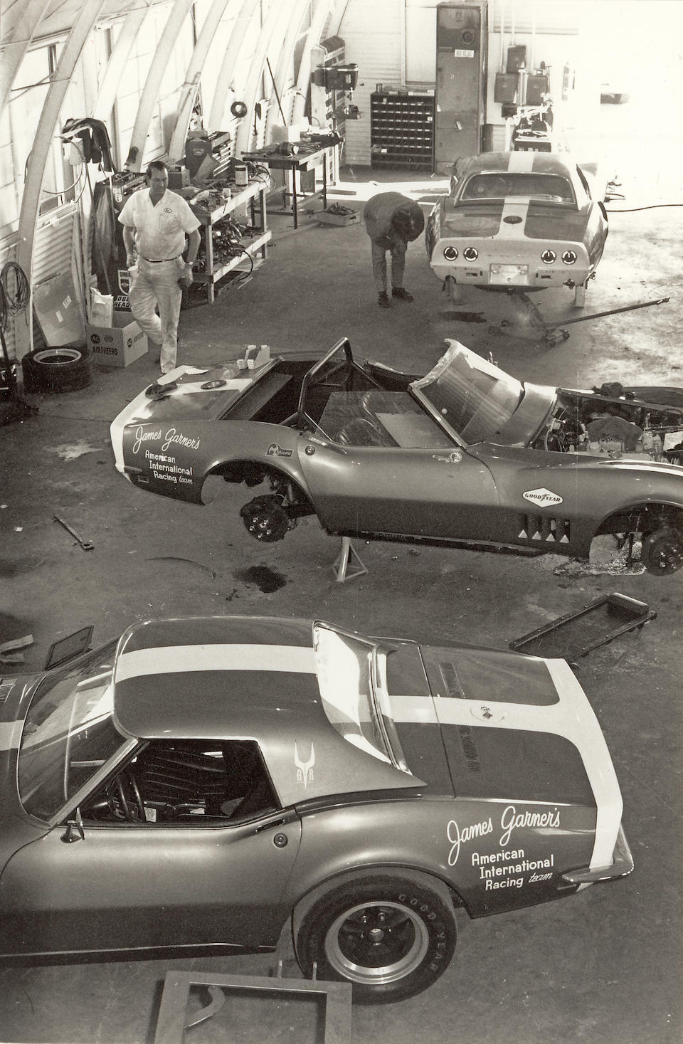 Bonhams : The ex-James Garner/American International Racing