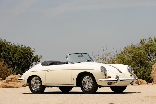 Bonhams : 1960 Porsche 356B 1600 Roadster Chassis no  87288 Engine