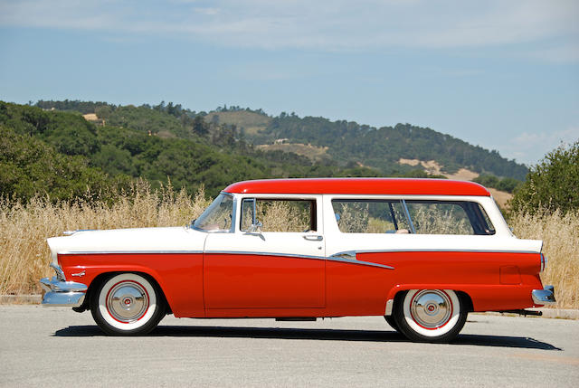 1956 Ford Custom Ranch Wagon  Chassis no. M6FR220249