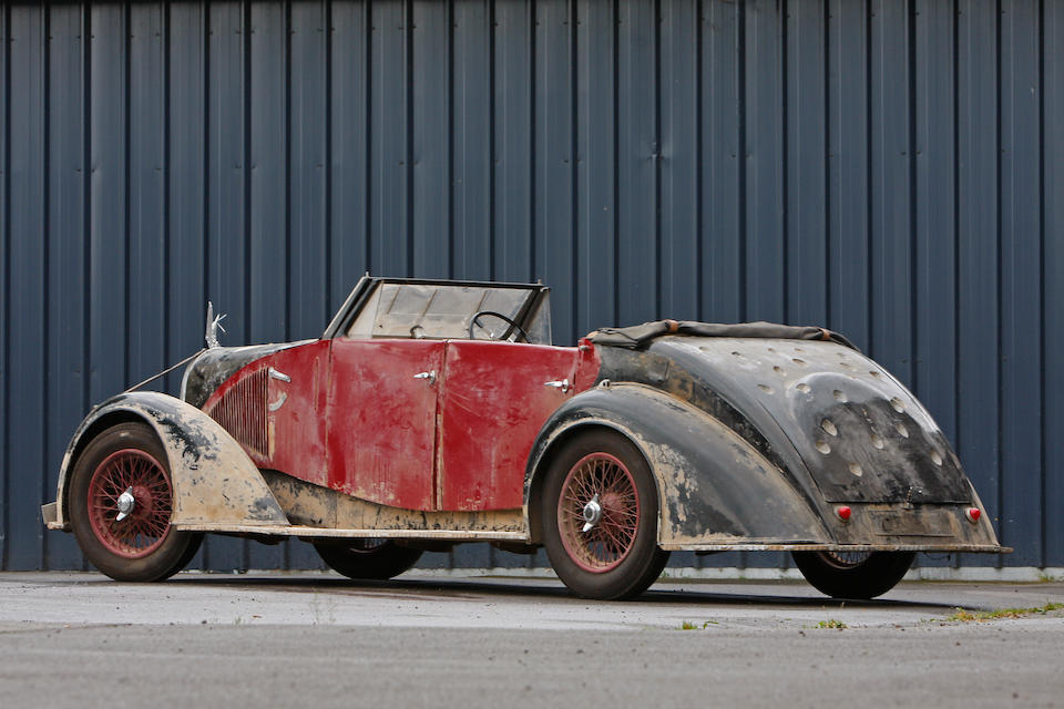 From the major motion picture Sahara,Avions Voisin C28 Sahara Convertible Recreation  Chassis no. TBD