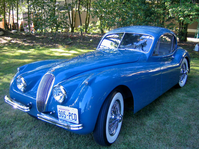 1953 Jaguar XK120 Fixed-Head Coupe S680511