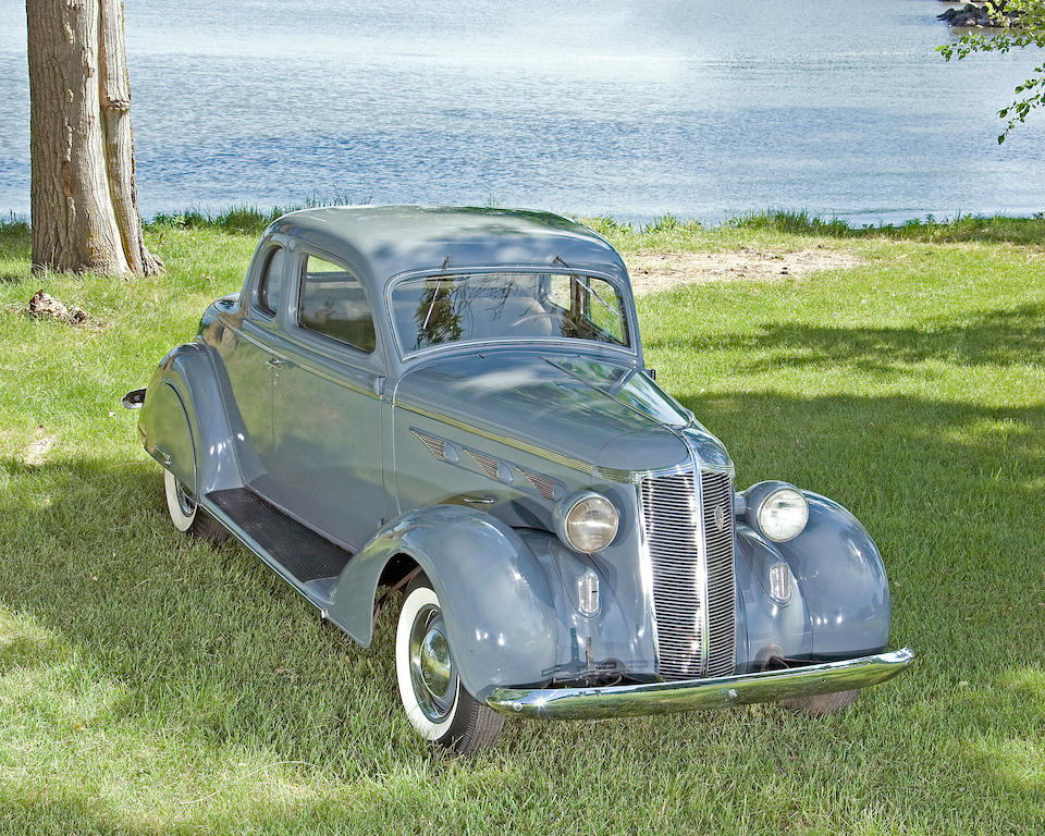 1936 DeSoto Airstream 2-Passenger Coupe  Chassis no. S1BCD-2260