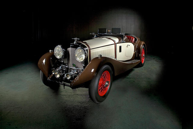 1927 Bentley Speed Six Two-seater and Dickey  Chassis no. DH2206 Engine no. NH2732