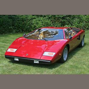 Bonhams 1975 Lamborghini Countach Lp 400 Chassis No 1120088