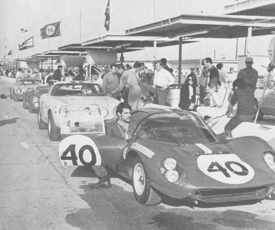 The ex-NART, Sam Posey/Riccardo Rodriguez 2nd in class 1969 24 hours of Daytona,1967 Ferrari 275GTB/4 Alloy Berlinetta  Chassis no. 10311