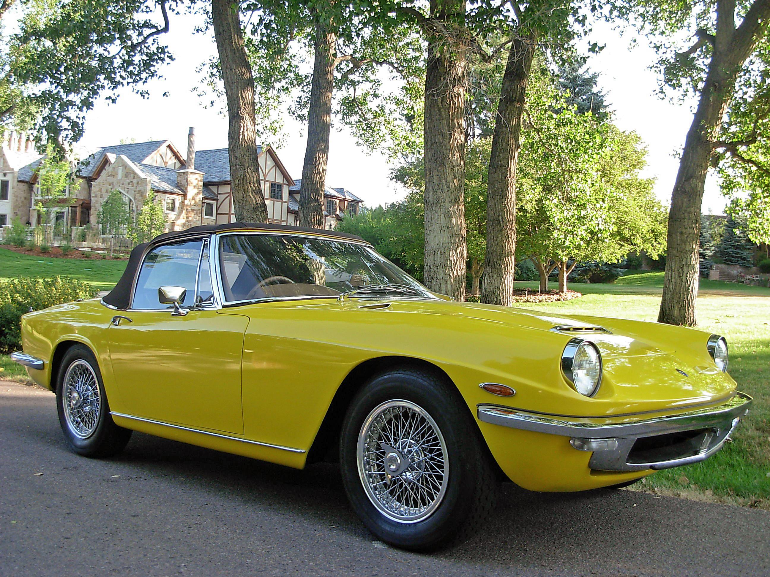 1966 Maserati Mistral 4000 Spyder Coachwork by Carrozzeria ...