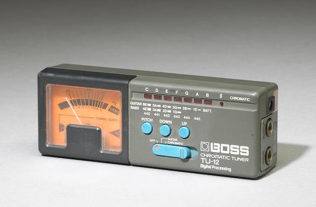 A Jerry Garcia tuner, 1980s