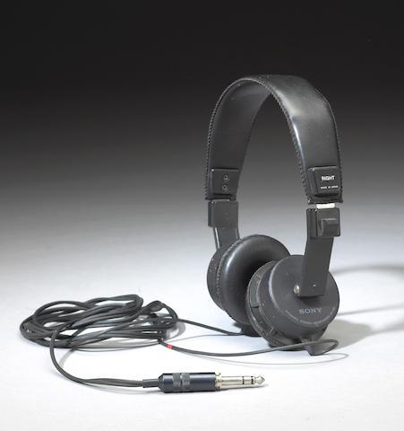 A Jerry Garcia set of headphones, 1980s