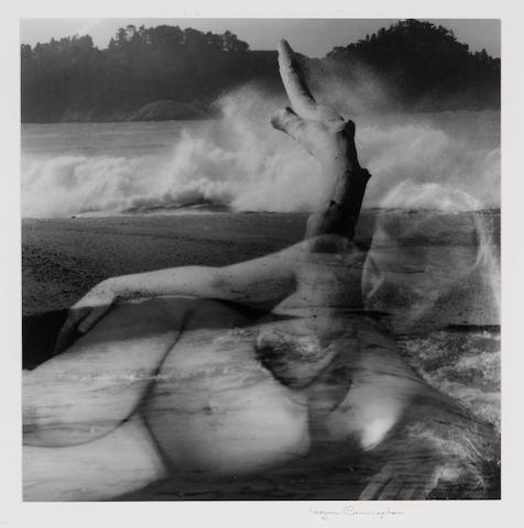 Imogen Cunningham (American, 1883-1976); Montage of Nude and Landscape;