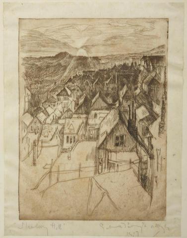 Gertrude Partington Albright (American, 1883-1953); Strawberry Hill;