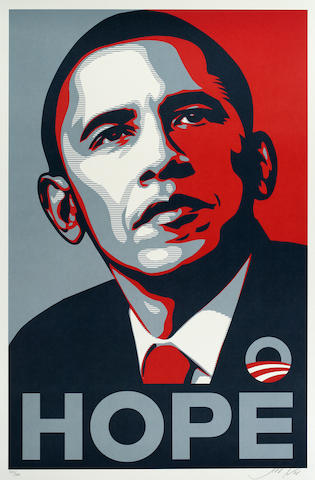 Shepard Fairey Hope