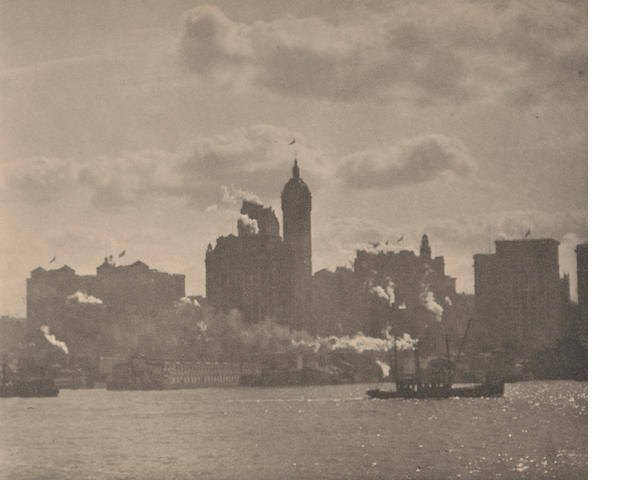 Alfred Stieglitz (American, 1864-1946); Lower Manhattan, from Camera Work;