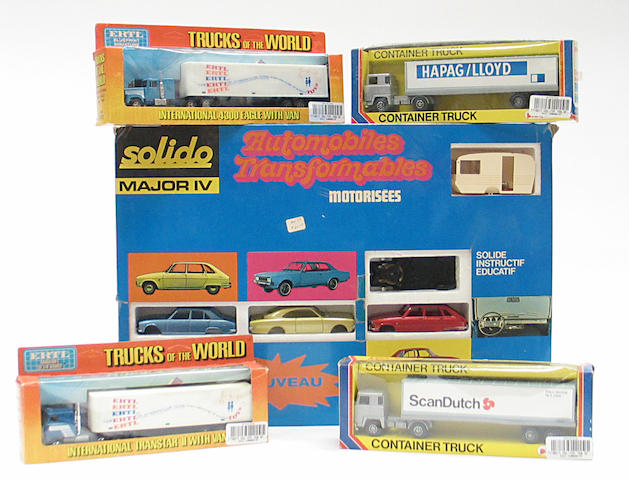 Assorted Boxed vehicle sets