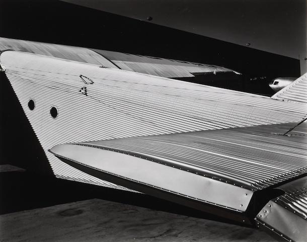 Brett Weston (American, 1911-1993); Ford Trimotor Plane;