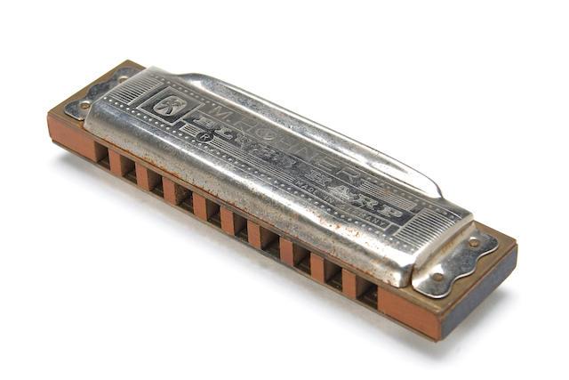 """A Ron """"Pig Pen"""" McKernan harmonica, circa 1960s"""
