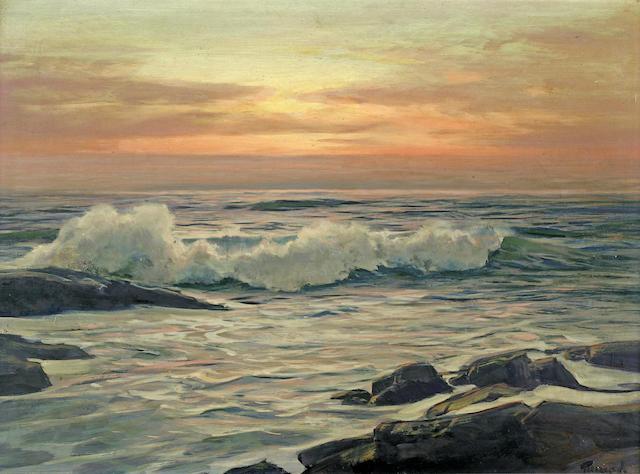 Frederick Waugh, Seascape