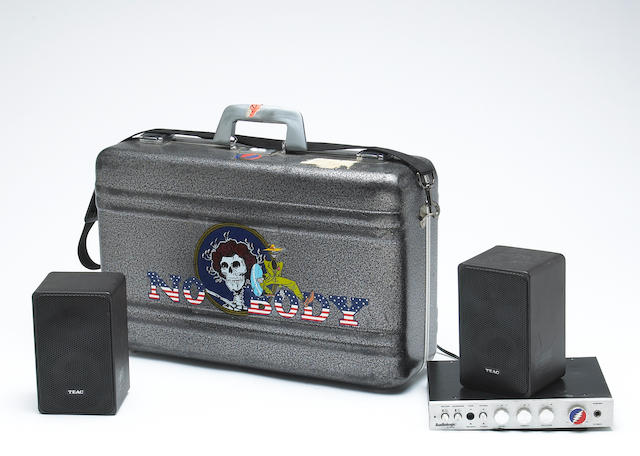 A Rock Scully-owned portable amplifier/speaker set used on the road with The Grateful Dead, 1970s-19