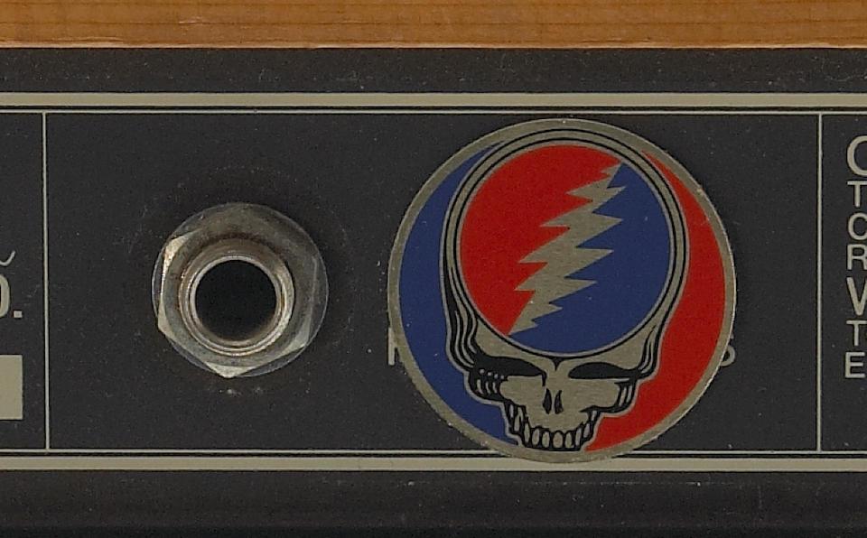 A Jerry Garcia Yamaha amplifier, 1970s