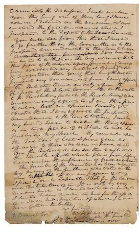 HARRISON, WILLIAM HENRY. 1773-1841.