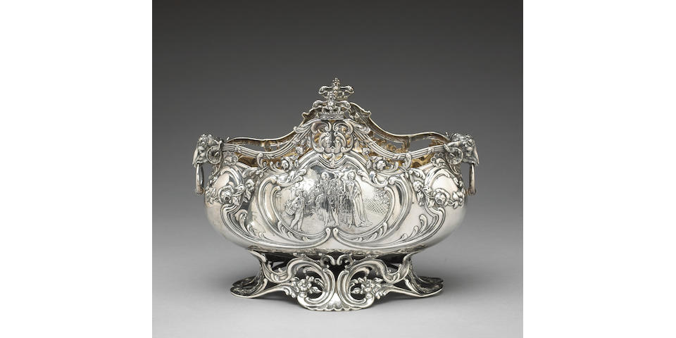 German Sterling Centerpiece by Neresheimer