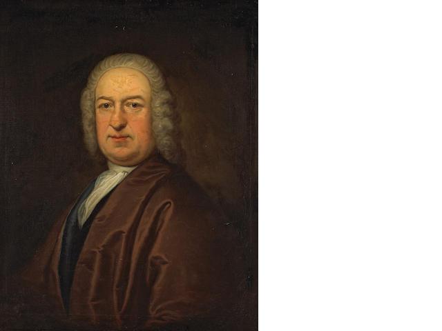 Thomas Bardwell (British, 1704-1767) Portrait of a gentleman