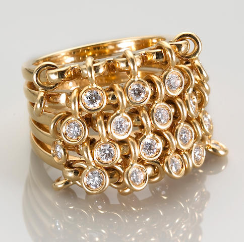 A diamond ring, Dior