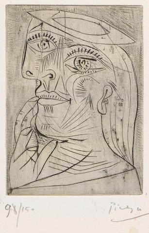 Eluard, Paul. Solidarite. 1938. Miro & Picasso.
