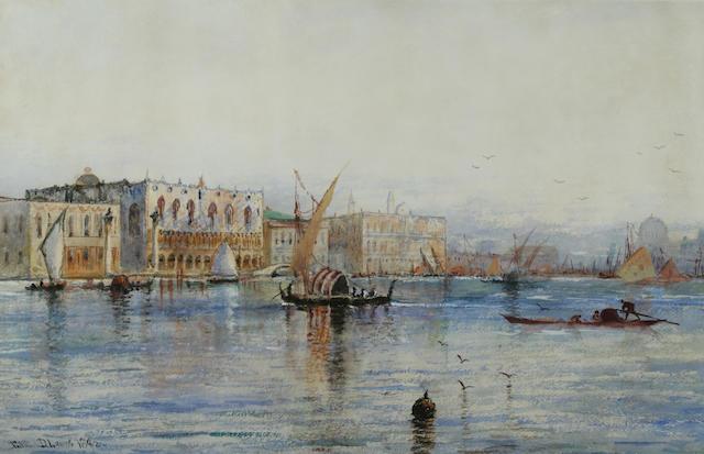 Edmund Darch Lewis, Venetian Scene