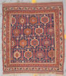 An Afshar rug Southwest Persia, size approximately 3ft. 7in. x 4ft.