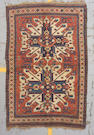 A Kazak rug Central Caucasus, size approximately 4ft. 6in. x 6ft. 10in.