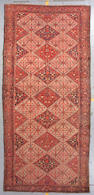 A Malayer long carpet Central Persia, size approximately 6ft. 10in. x 16ft. 11in.