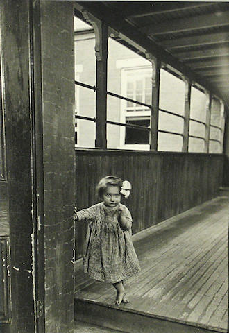 Lewis Wickes Hine (American, 1874-1940); Little Orphan Annie in a Pittsburgh Institution;