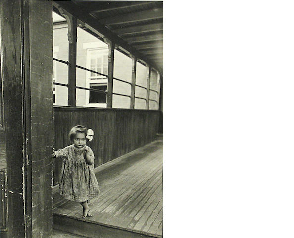Lewis Wickes Hine (American, 1874-1940); Little Orphan Annie, in a Pittsburgh Institution;