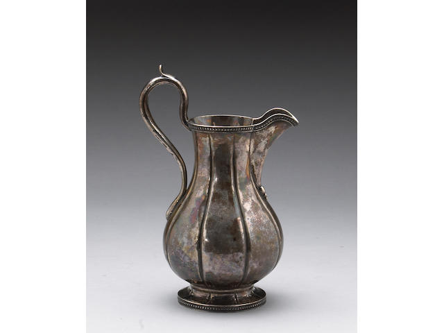 Coin Silver Water Pitcher of Selma, Alabama Interest