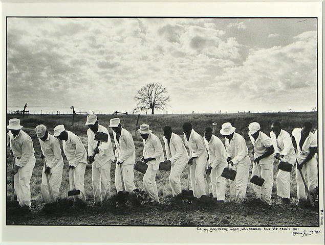 Danny Lyon (American, born 1942); The Line, Texas;