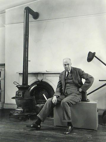 Berenice Abbott (American, 1898-1991); Edward Hopper;